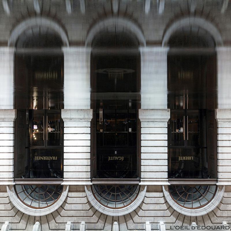 Reflet de l'Hôtel de Ville, Annecy