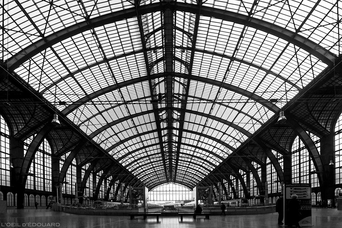 Verrière de la Gare d'Anvers