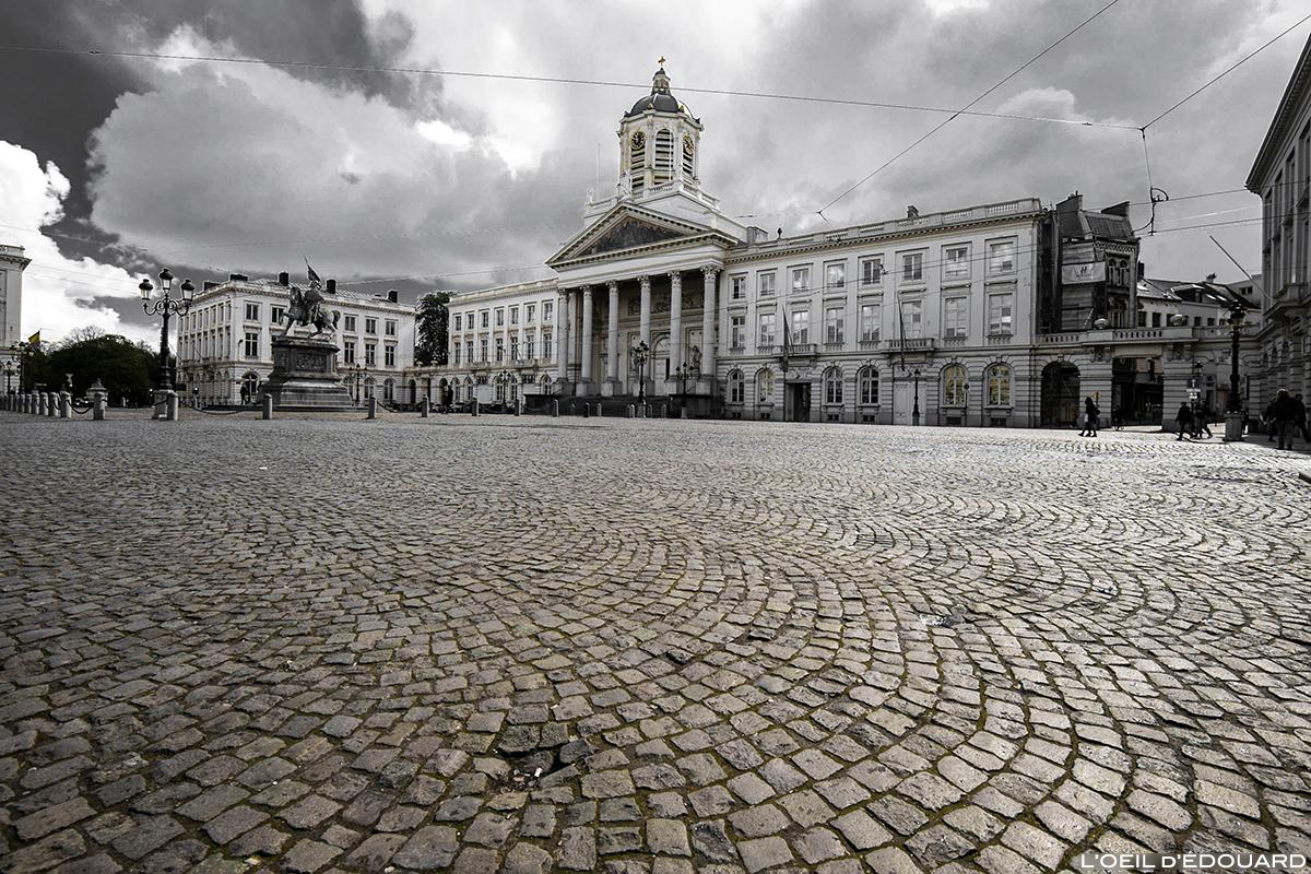 Place Royale et Église Saint-Jacques-sur-Coudenberg, Bruxelles