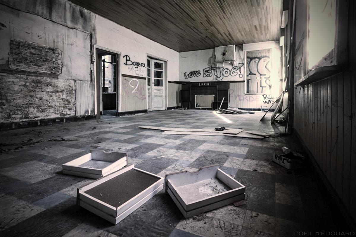 Urbex, maison abandonnée, Doel
