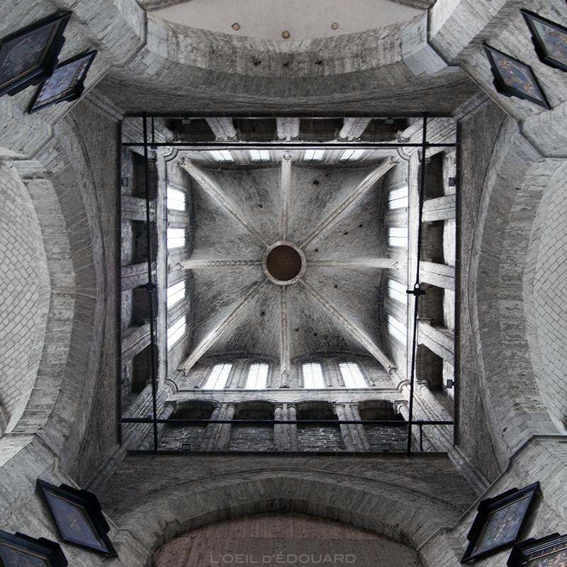 Plafond Église Saint-Nicolas, Gand