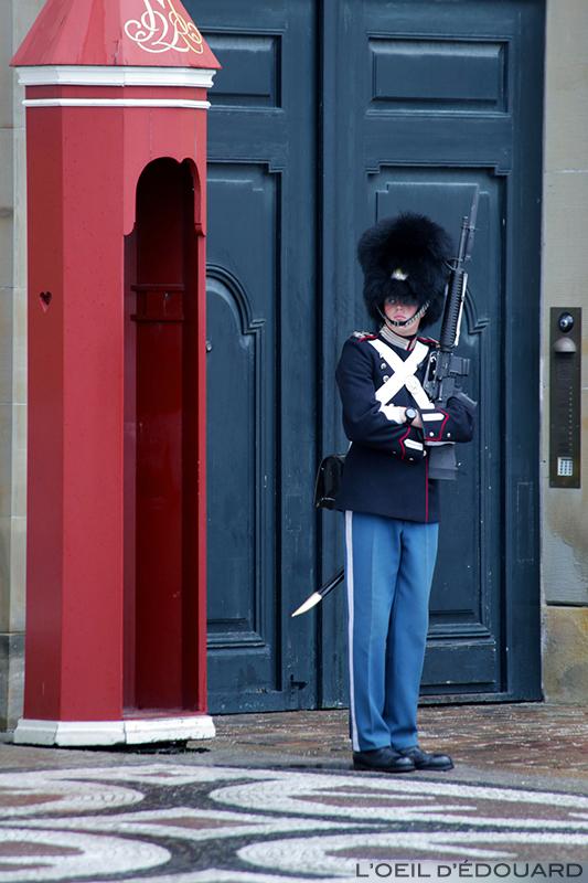 Garde Royale, Copenhague