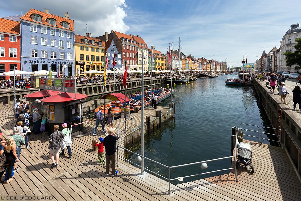 Quais du canal de Nyhavn, Copenhague