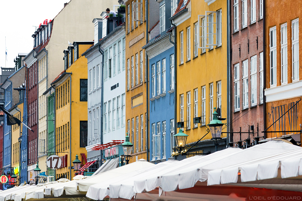 Façades colorées de Nyhavn, Copenhague
