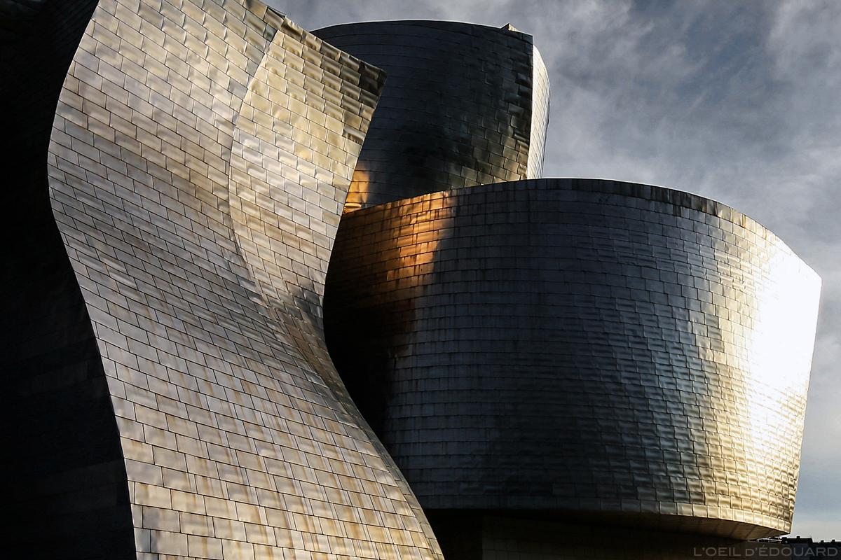 Lumières sur le Musée Guggenheim, Bilbao