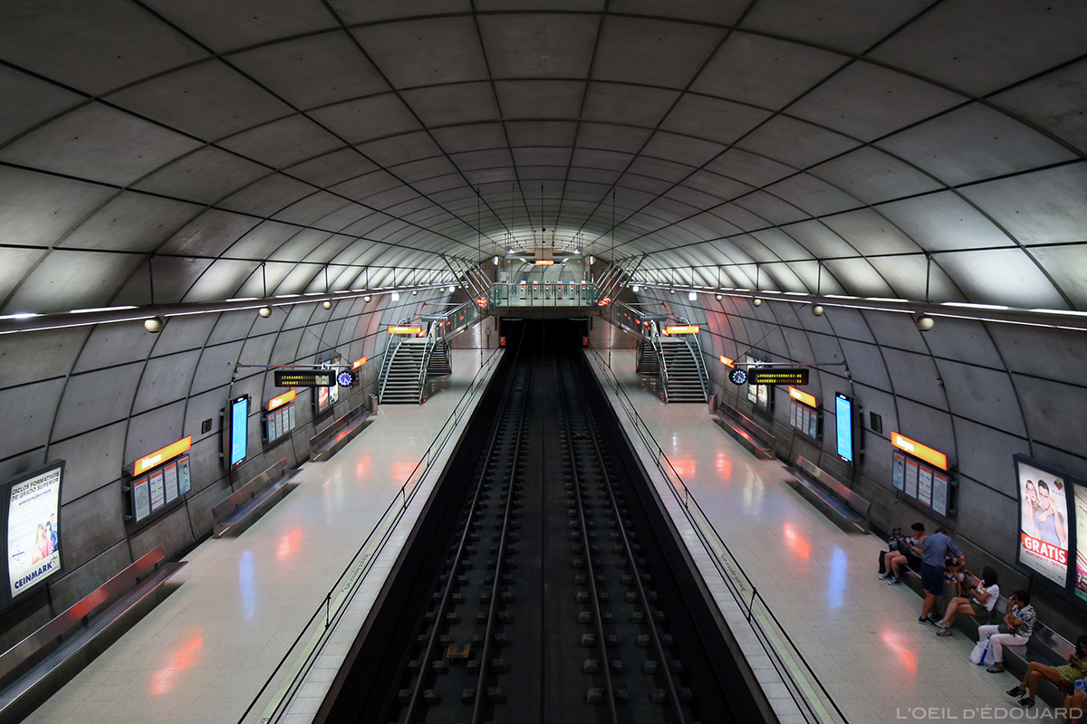 Station de métro, Sir Norman Foster, Bilbao