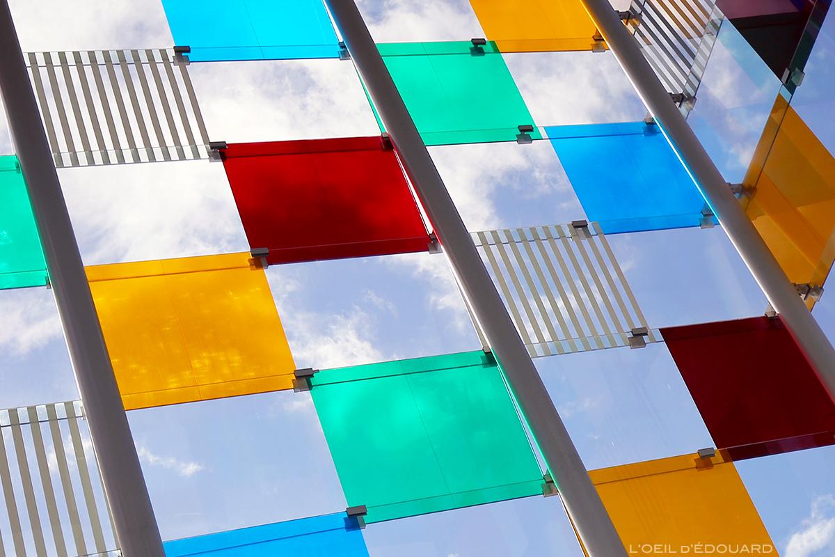 El Cubo, Daniel Buren, Centre Pompidou Malaga