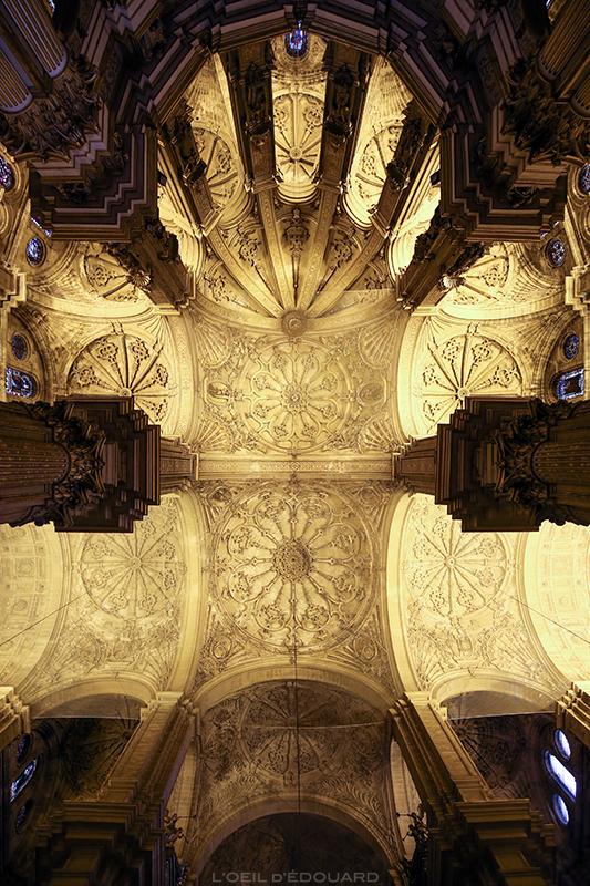 Plafond de la Cathédrale de l'Incarnation, Malaga