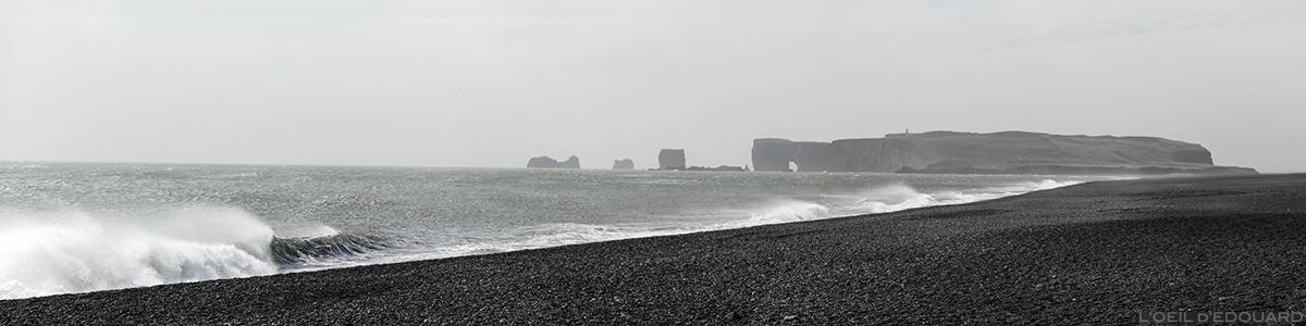 Reynisfjara et Dyrholaey, Islande