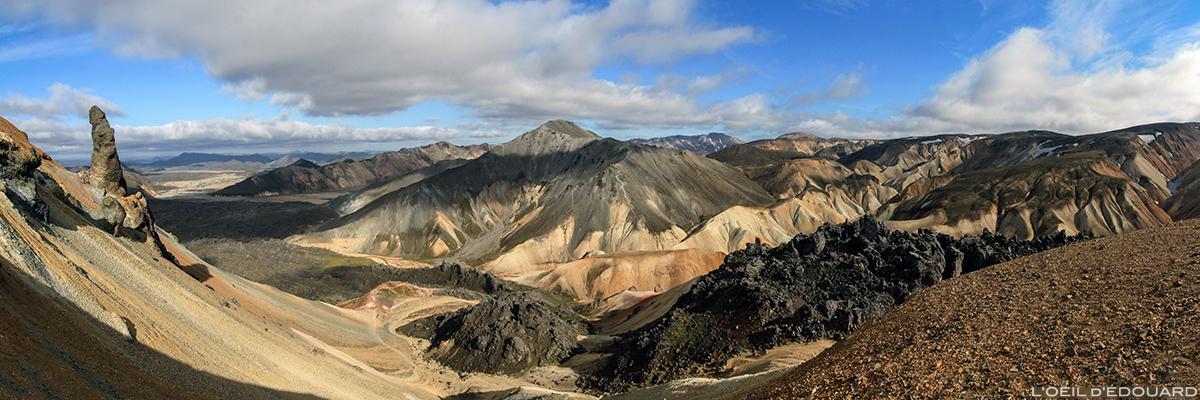 Montagnes de Landmannalaugar, Islande
