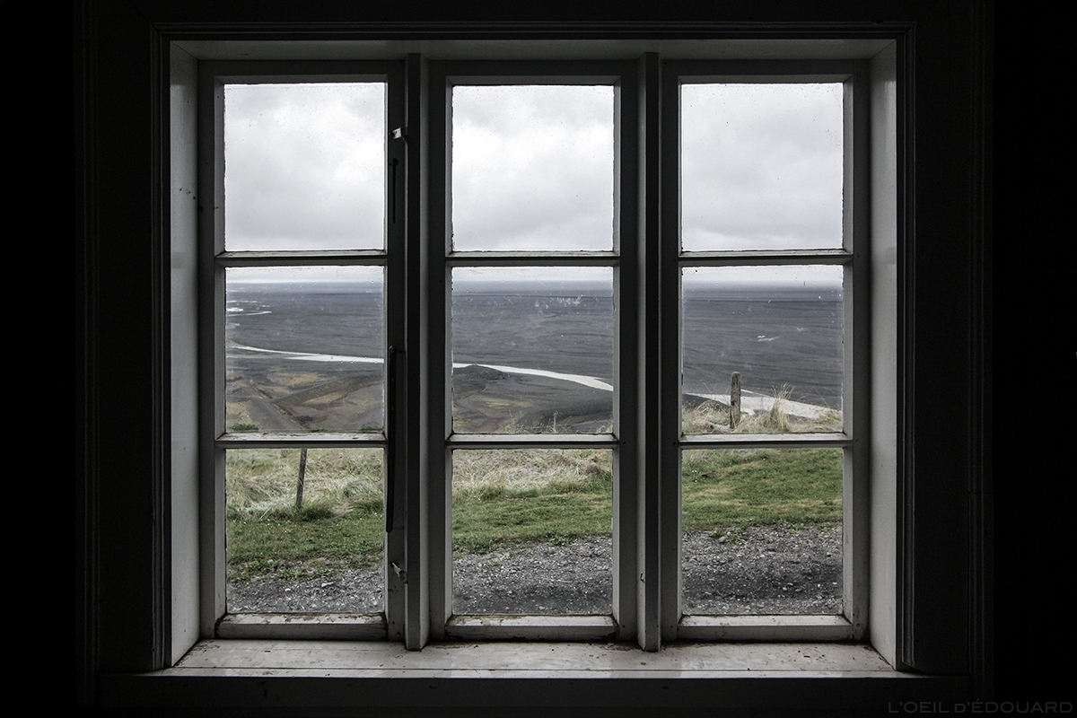Fenêtre sur Skaftafell, Sel, Islande
