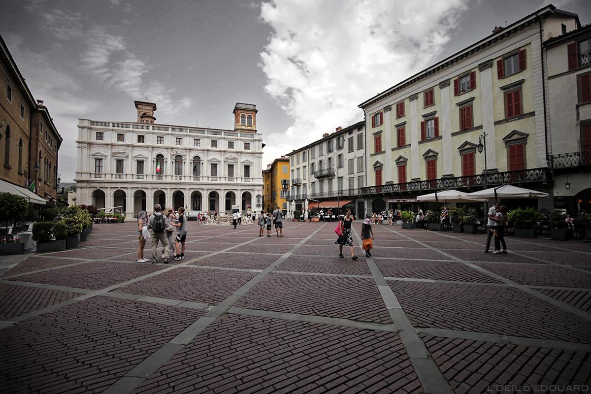 Piazza Vecchia, Bergame
