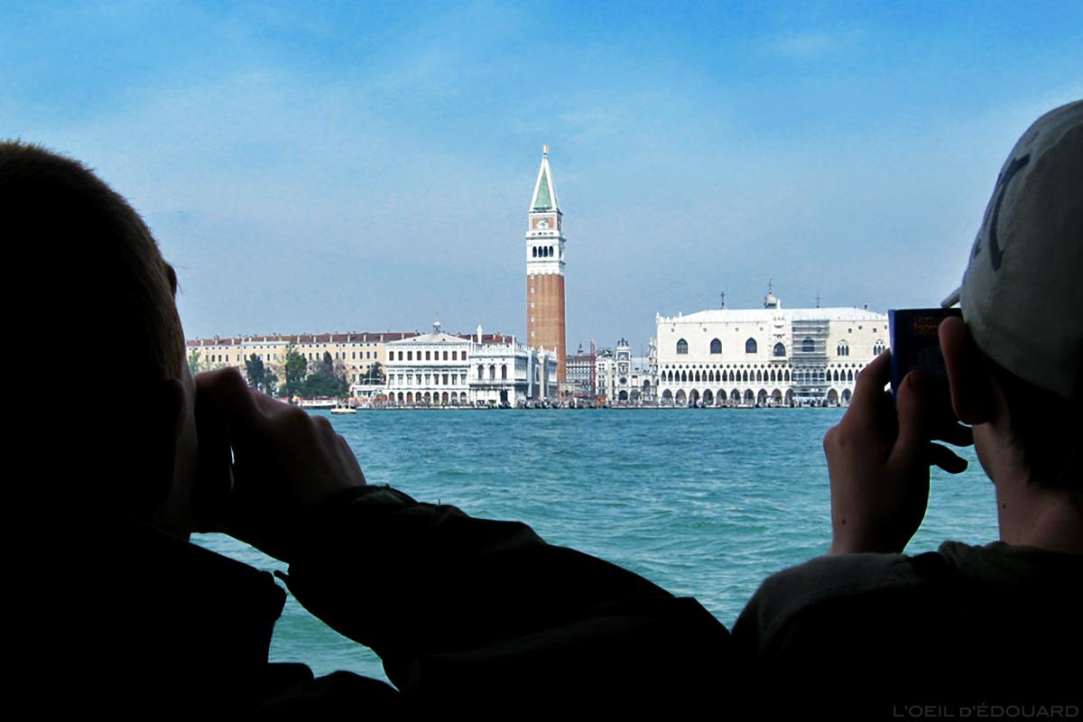Jeunes touristes, Venise