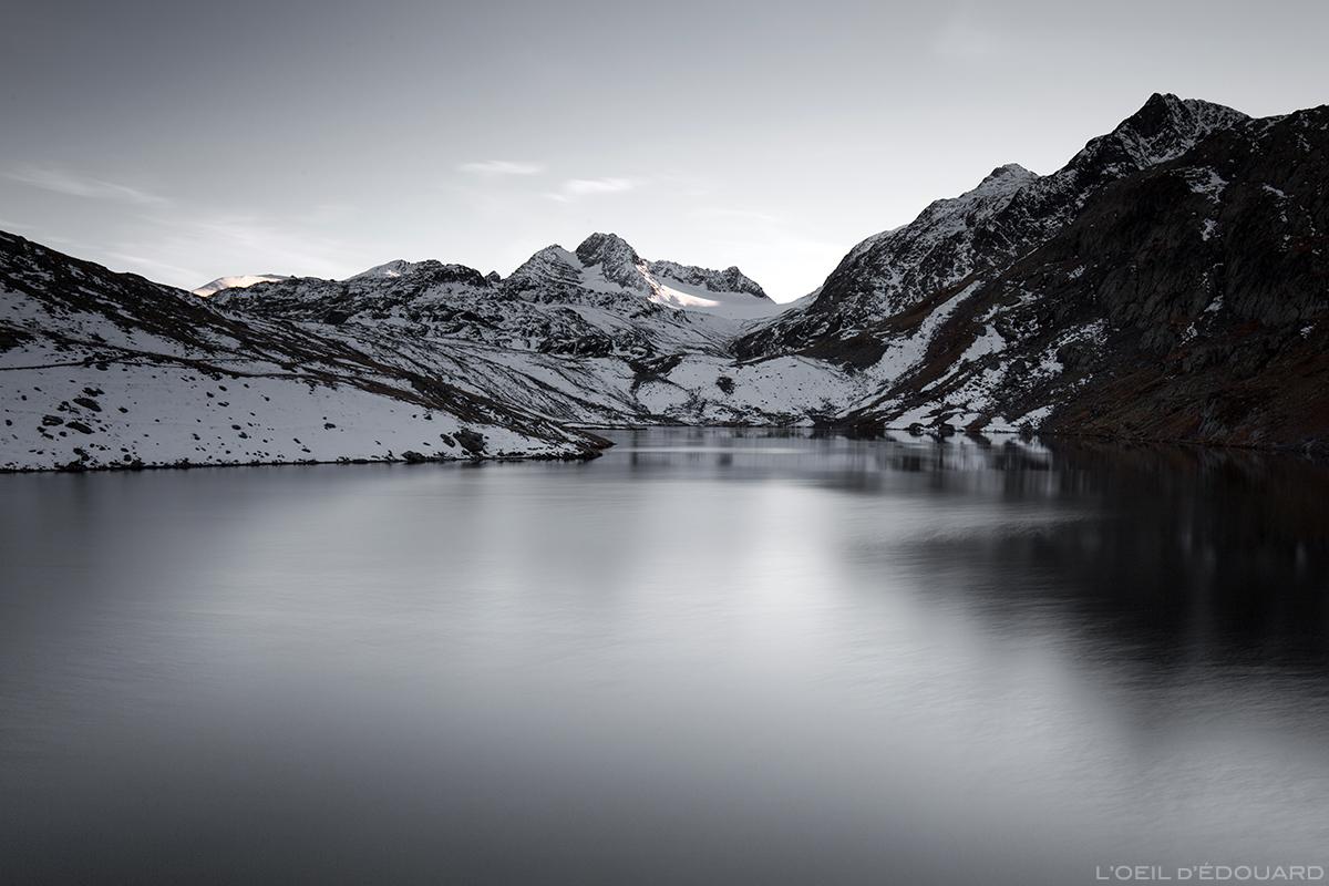 Lac Blanc et Glacier de Saint-Sorlin