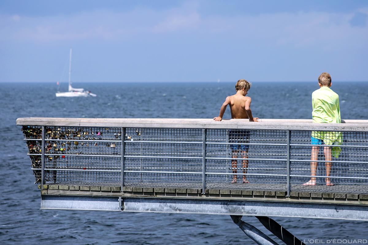 Baignade à Malmö