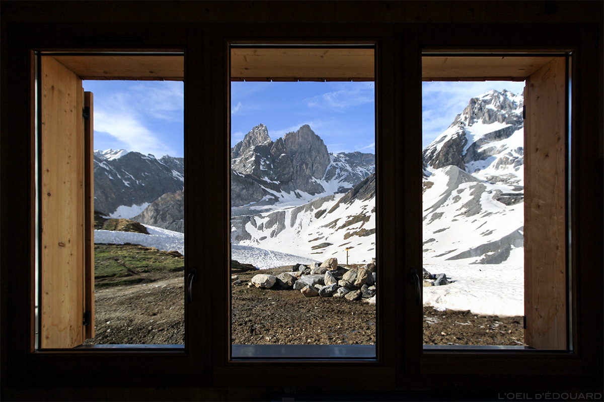 Refuge Félix Faure, Col de la Vanoise