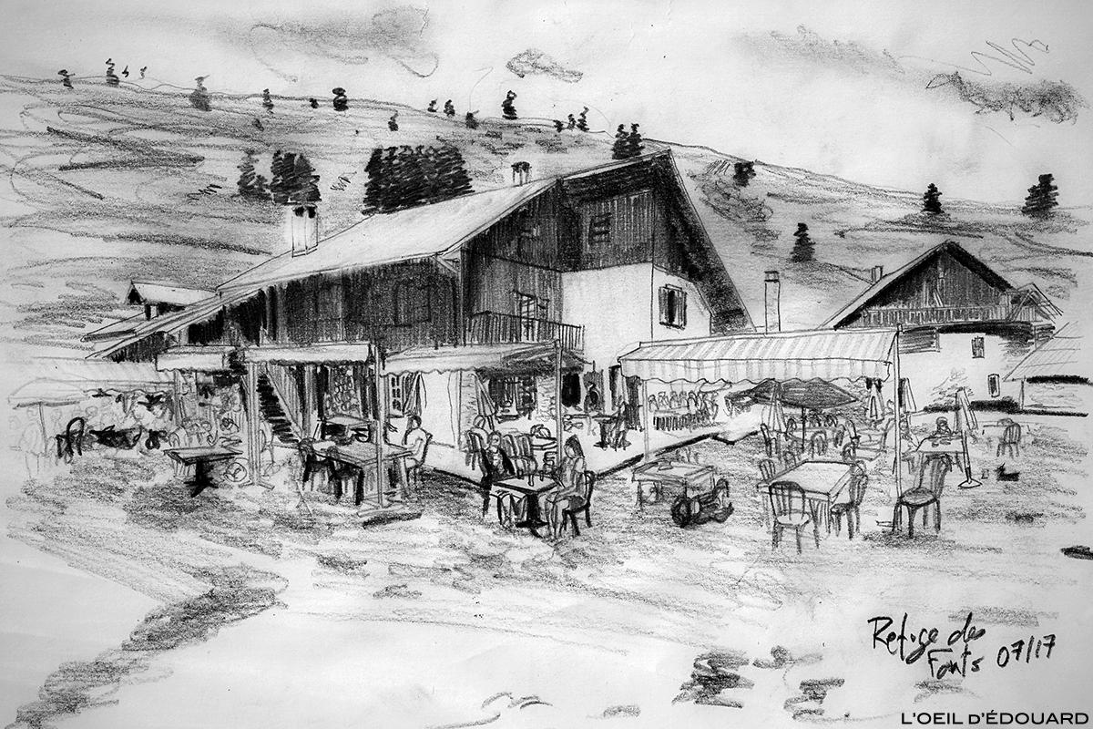 Refuge des Fonts de Cervières, Queyras © L'Oeil d'Édouard