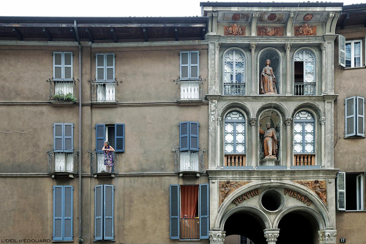 Façade extérieure Théâtre Fossati, Milan - Teatro Fossati di Milano © L'Oeil d'Édouard - Tous droits réservés