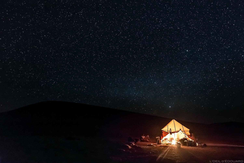 Bivouac sous la nuit étoilée dans le désert du Maroc © L\\\\\\\\\\\\\\\'Oeil d\\\\\\\\\\\\\\\'Édouard - Tous droits réservés
