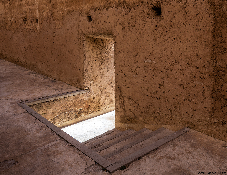 Palais Badi de Marrakech, Maroc © L\'Oeil d\'Édouard - Tous droits réservés