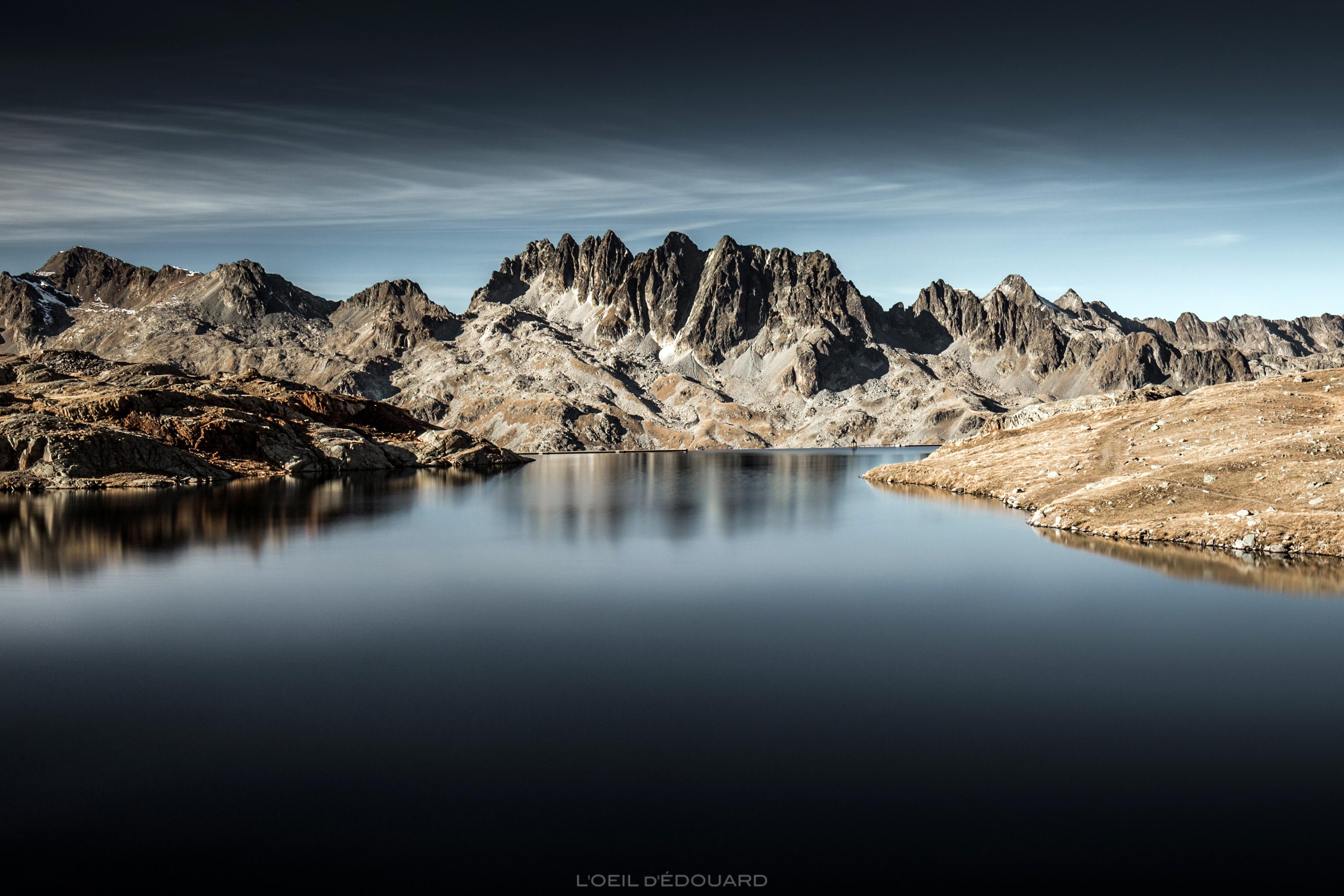 Lac Bramant et Aiguilles de l'Argentière © L'Oeil d'Édouard - Tous droits réservés