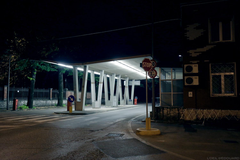 Poste de frontière Italie / Slovénie, Gorizia - Nova Gorica © L\'Oeil d\'Édouard - Tous droits réservés