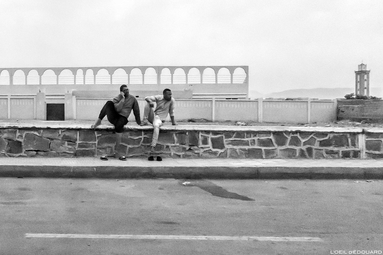 Rue de Agdz, Vallée du Draâ, Maroc © L\'Oeil d\'Édouard - Tous droits réservés