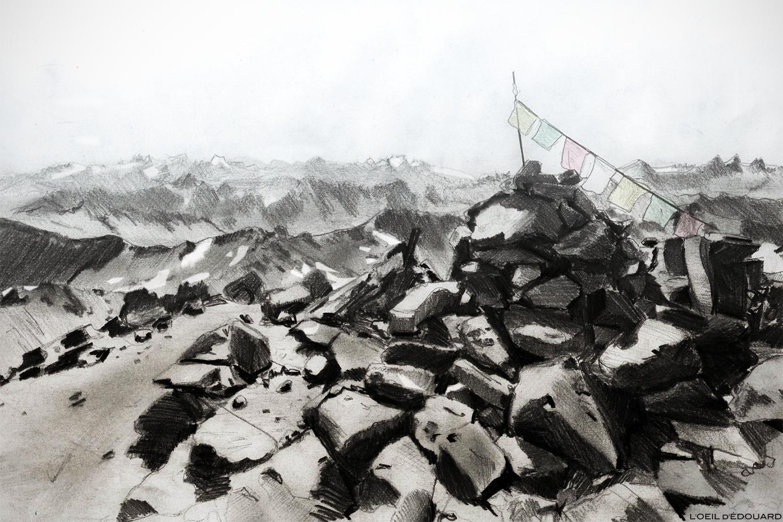 Sommet du Mont Thabor © L'Oeil d'Édouard - Tous droits réservés