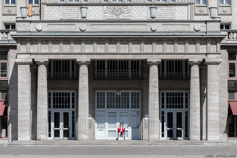 Karl Marx Allee, Berlin Allemagne Deustchland Germany © L'Oeil d'Édouard - Tous droits réservés