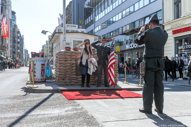 Checkpoint Charlie Berlin Allemagne Germany Deutschland