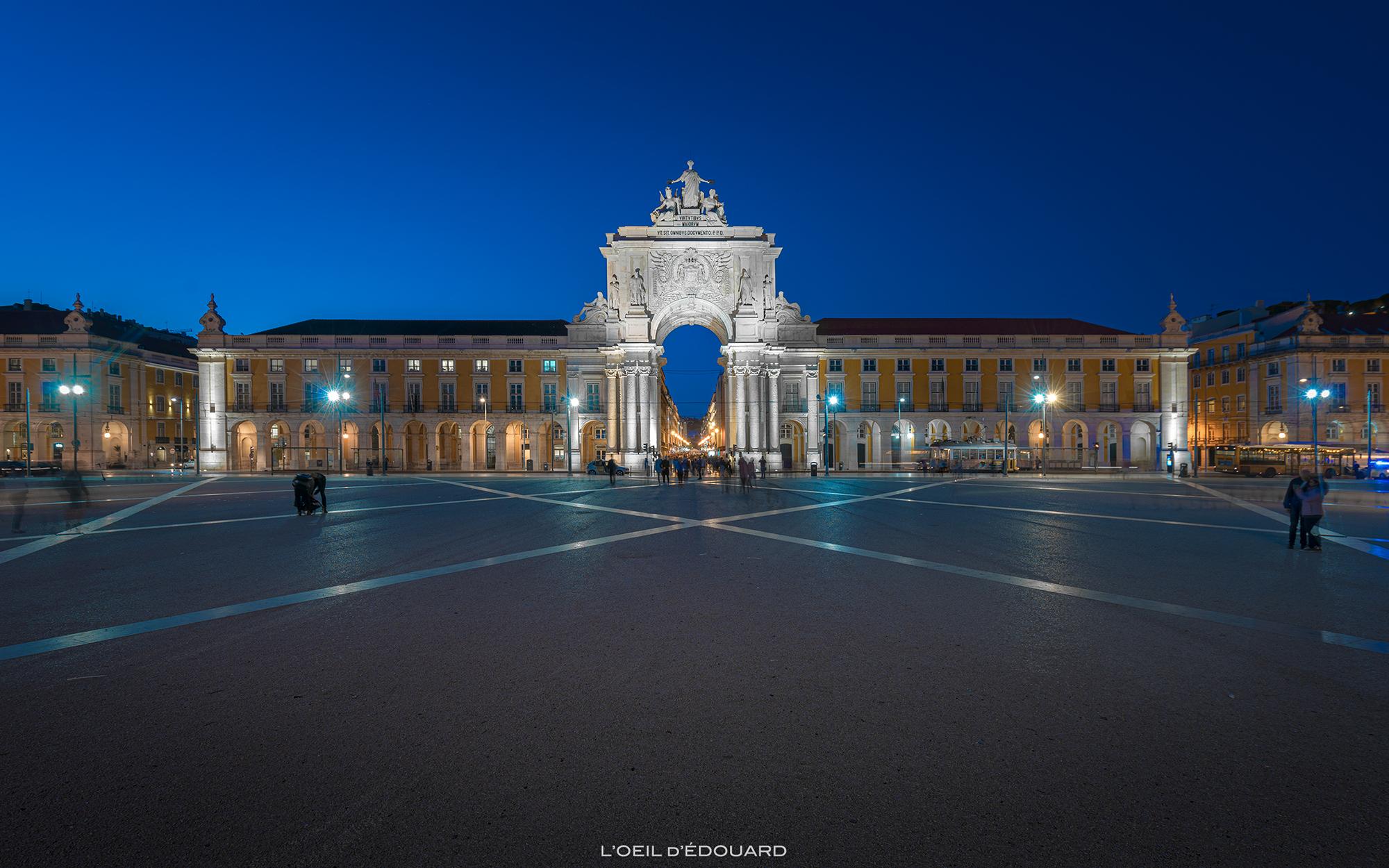 Monument Arc de Triomphe Lisbonne Portugal - Arco da Rua Augusta Lisboa Lisbon © L'Oeil d'Édouard - Tous droits réservés