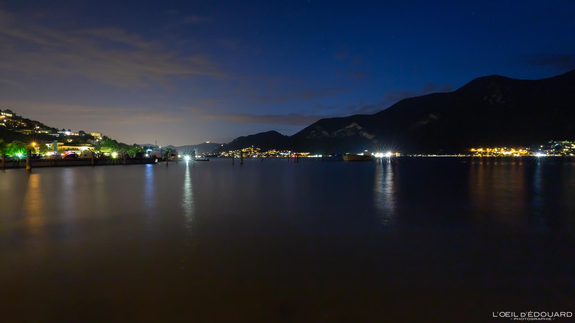 Lac d\\\\\\\\\\\\\\\'Iseo de nuit, Italie © L\\\\\\\\\\\\\\\'Oeil d\\\\\\\\\\\\\\\'Édouard