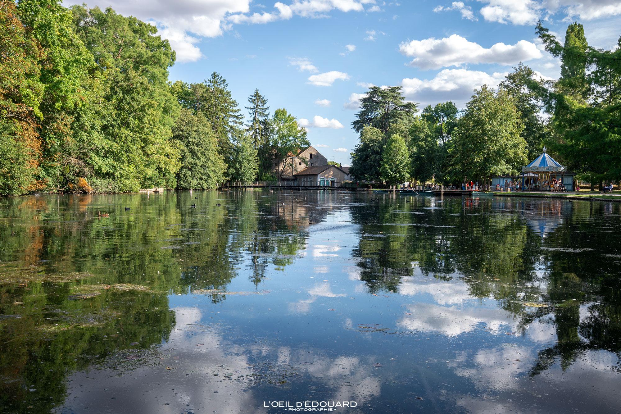 Parc de la Bouzaize, Beaune © L'Oeil d'Édouard - Tous droits réservés