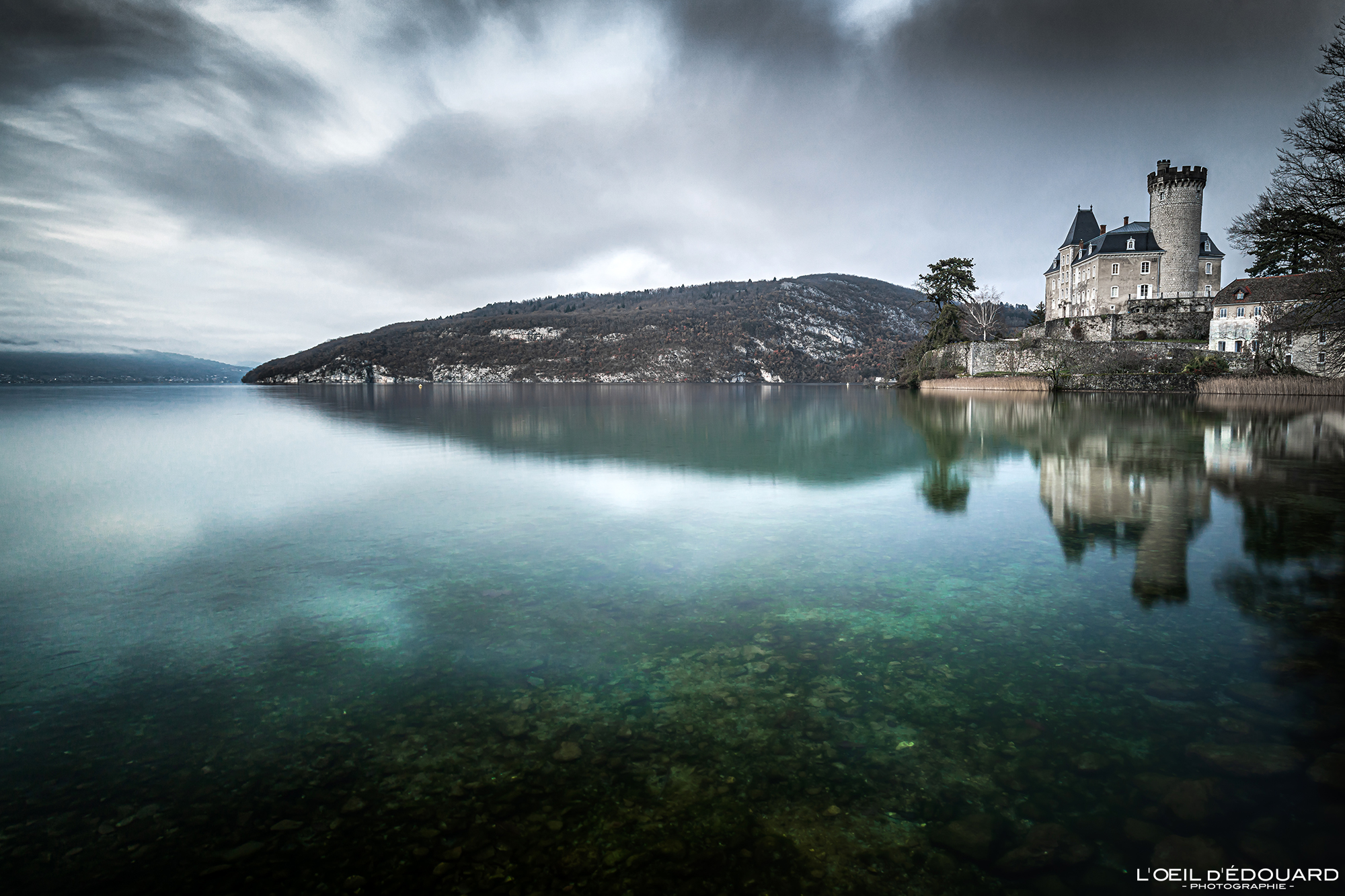 Château de Duingt, Lac d'Annecy © L'Oeil d'Édouard - Tous droits réservés