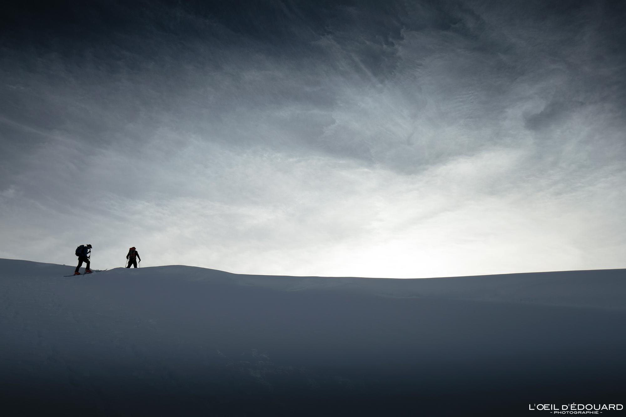 Sur la ligne, Massif des Cerces © L\'Oeil d\'Édouard - Tous droits réservés