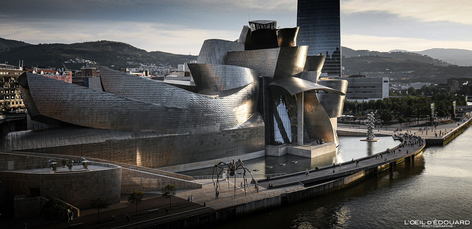 Musée Guggenheim Bilbao © L'Oeil d'Édouard - Tous droits réservés